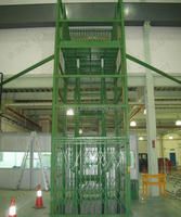 Vertical cargo lift/used hydraulic car lift