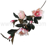 "High quality 35.4"" silk artificial blossoms tree magnolia flower from Chinese manufacturer"