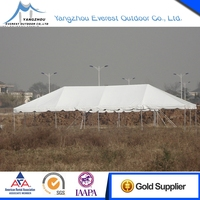 Latest Hot Selling 20x40 PVC frame tent with decorative lining