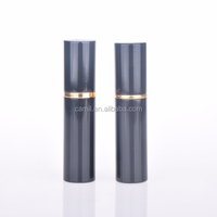 hot sale 5ml refillable aluminum atomizer perfume bottle pump black