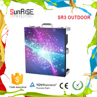 Sunrise USA p3.9 outdoor hd video wall display most luxurious designer led display P3.9