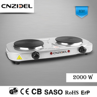 Cnzidel electric baking oven electric stove 2 burner electric hot plate