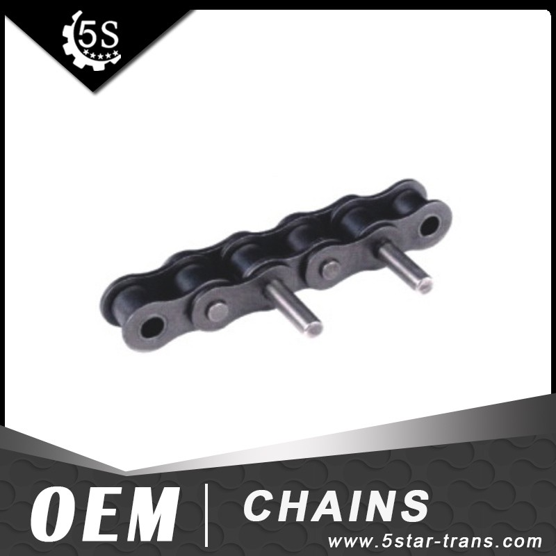 Short Pitch stainless steel Conveyor roller Chain with extended Pin