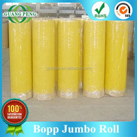 Clear Competitive Bopp Adhesive Tape Jumbo Roll Price For Carton Sealing