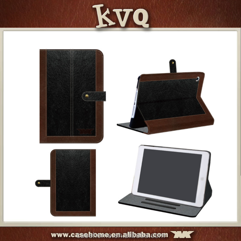 2015 Latest fashion design pu leather case for iPad mini 4