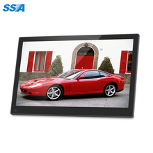 Hot sale indoor using 17.3 inch bulk digital photo frame with high quality with MP3/Video /Movie/Photo