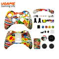 Hydro Dipped Controller Shell for Xbox 360 Controller With Button Kit