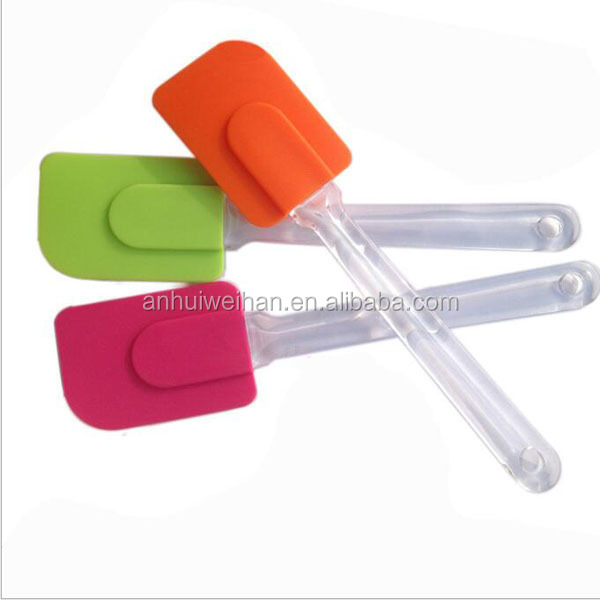 2016 best selling Custom Private Label Printing Silicone Spatula