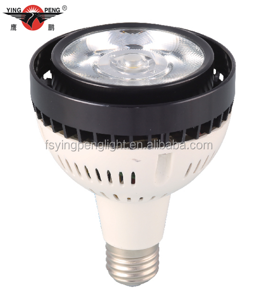 30W/35W/45W cool white led cob E27 PAR30 light bulb, light