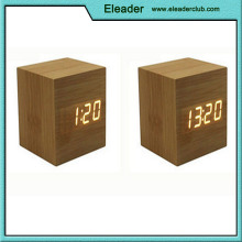 New Modern wood clock led