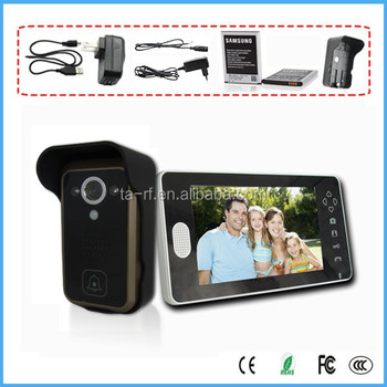 7 Inch Wireless Video Door Phone From China Original Supplier