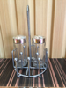 Kitchen Metal Spice Rack And Seasoning