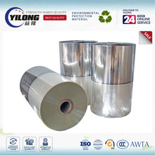 Cold laminating metallized polyester film 12 micron Pet/Pe