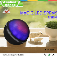 outdoor large water dancing led bluetooth stereo speaker with TF card and music player