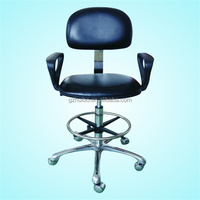 Black and Blue PU 5161 AntiStatic chair ESD Chair office chair