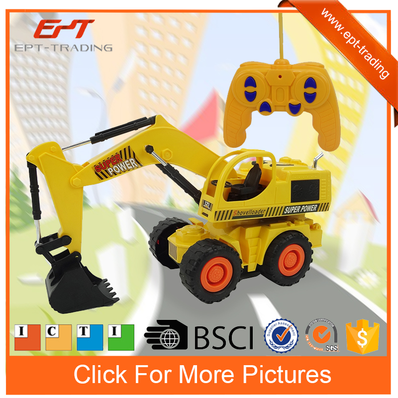 Kids car rc construction truck toys for kids