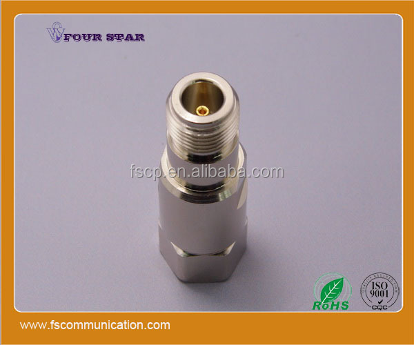 "clamp female jack rf coaxial N connector for 1/2"" foam feeder cable"