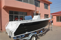 China Factory 5M Center Console Aluminum Ship for Fishing