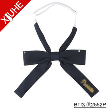 Wholesale custom beauty sweet school uniform Female bow tie