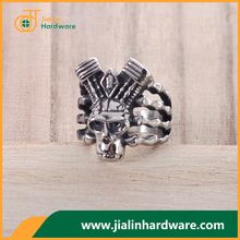 Best selling wholesale low price of womens skull rings