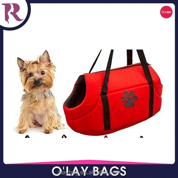 Dog and cat Soft Cosy Carry Bag Zip Closed Washable Pet Travel Carrier