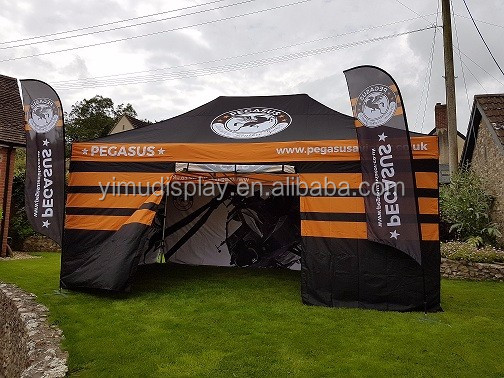 Custom Logo pop up canopy free design 10x20 canopy tent for advertising
