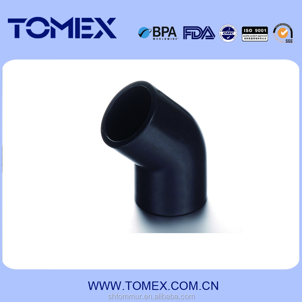 ASTM schedule 80 pvc pipe fittings 45 degree pvc elbow of high quality