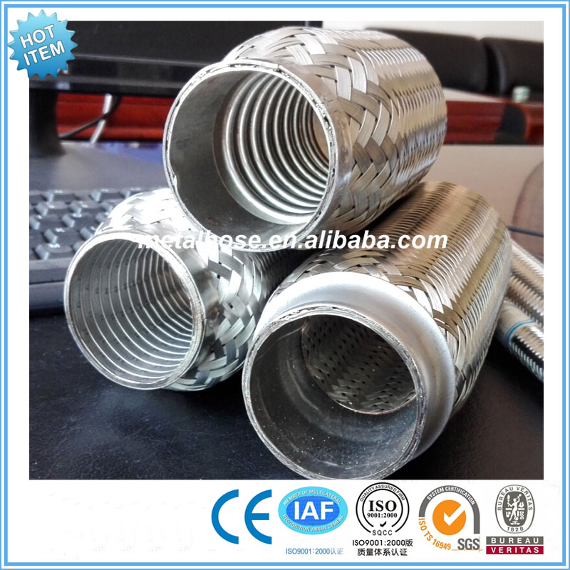 Exhaust flexible pipe with extension for generator