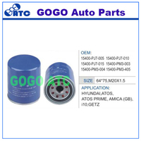 Oil Filter for Honda OEM 15400-PJ7-005 15400-PJ7-010 15400-PJ7-015 15400-PM3-003 15400-PM3-004 15400-PM3-405
