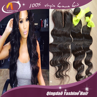 factory Wholesale Deep Wave Natural Brazilian Human Hair Extension
