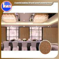 factory price anti noise Fire proof damp proof vivid texture decorative wooden 3d mdf wall panel board