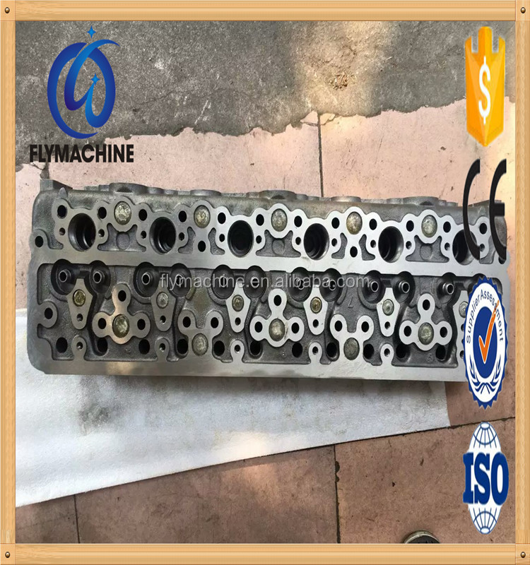 Factory price SK60 Cylinder Head , 4JB1 Engine Cylinder Head