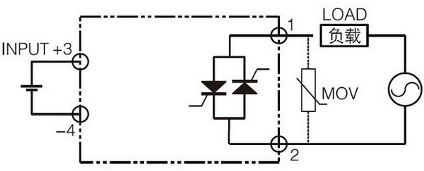zero crossing and random form solid state relay module