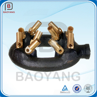 Brass Jets Gas Burner Nozzle Cast Iron Gas Stove Burner