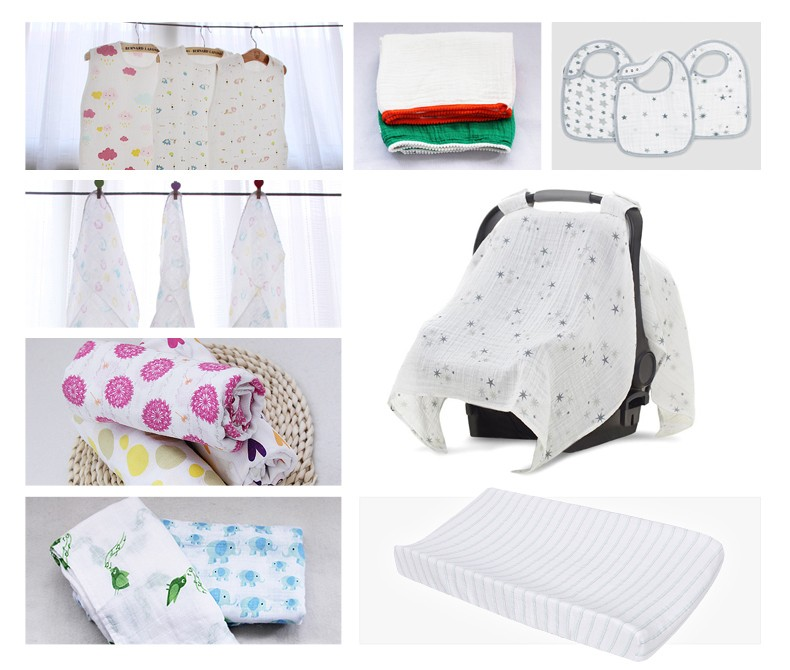 MOD 214 Multifunctional customized 100% cotton largest baby diaper