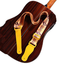 Hot sale customized woven printing guitar strap belt