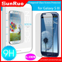 2013 new product China manufacturer 9H strong toughness tempered glass screen protector for Samsung Galaxy s3 I9300, OEM