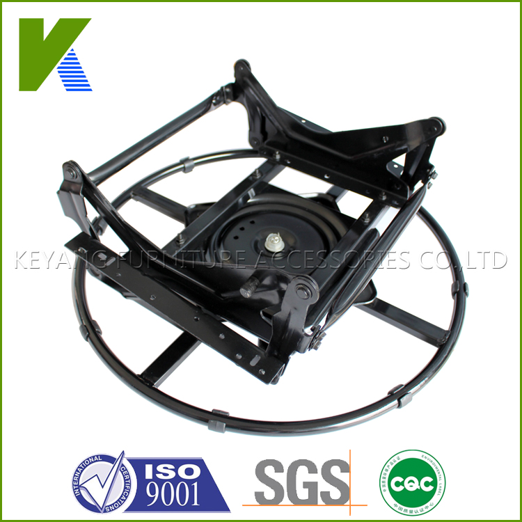 Multi-functional Chair Parts Swivel Glider Mechanism