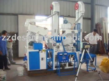 rice miller machinery