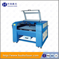 Huahai laser 50W CNC 2D 3D Crystal Laser Scanner Engraving Machine Price Competitive