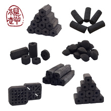 High heat value industrial coconut charcoal briquettes for bbq