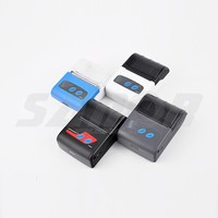 Sanor PTP-II 58mm Mini Portable Mobile Bluetooth Thermal Printer for Google Cloud print
