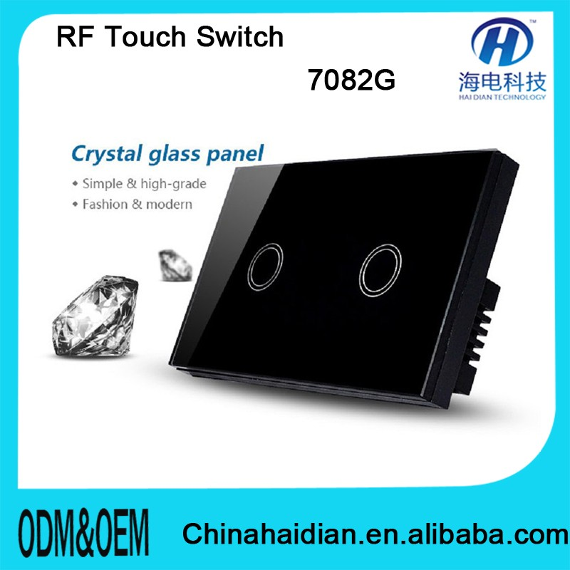 2016 433MHZ Z-WAVE ZIGBEE Remote Control Switch with CE RoHS FCC Certificate with top quality