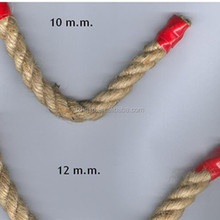 untreated 8mm sisal rope for garden