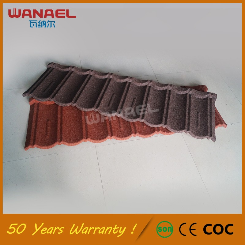 Promotional Top Quality Stone Coated Metal Corrugated Villa Roofing Pirce Roof Tiles Malaysia