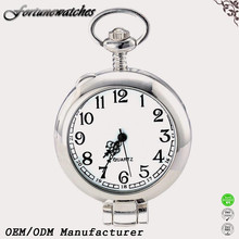 Pocket Watch on White Background Custom Musical Pocket Watch Men and Women