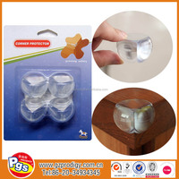 self-adhesive furniture plastic wall corner protetor / baby edge and corner guards