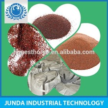high blasting garnet sand 20/40 used for stainless steel sandblasting