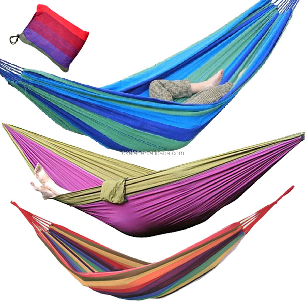 Best Sale 1 Person Portable Hammocks Bed Parachute Nylon Fabric Hammock  Travel Camping for Single One - Alibaba Manufacturer Directory - Suppliers, Manufacturers