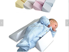2017 newborn Infant Safe Side Sleep Support Baby Wedge Pillow